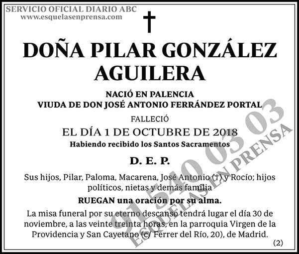 Pilar González Aguilera